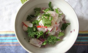 Felicity's perfect ceviche